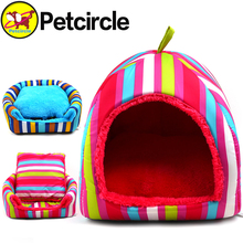 petcircle newarrival large pet dog house striped dog kennel for small and large dog pet house for chihuahua big dog bed