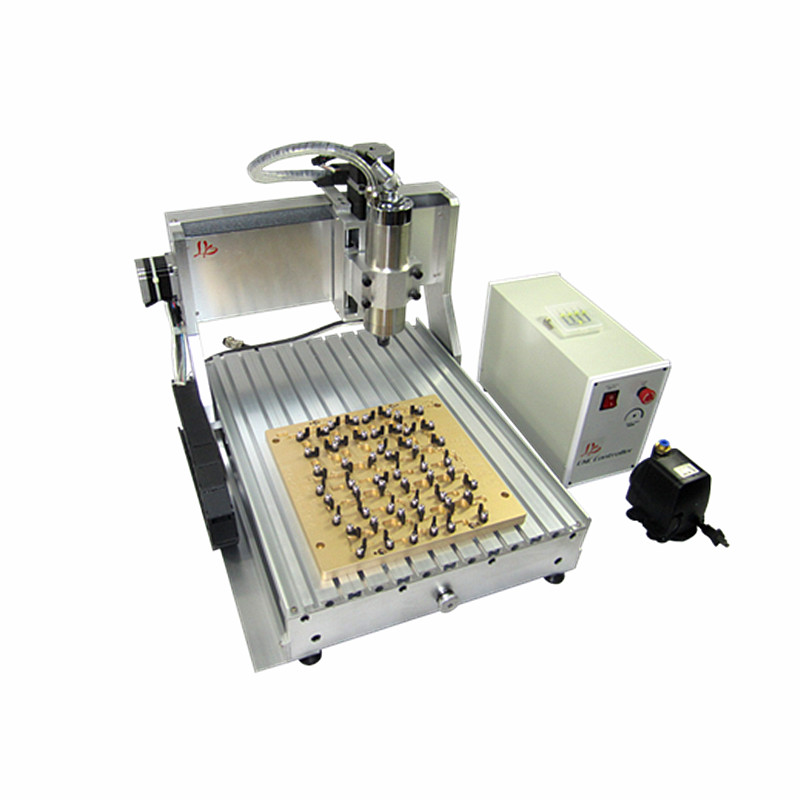Russain no tax! IC cnc router 3040 wiht mould 10 in 1 CNC milling polishing engraving machine for iphone 4/4s/5/5s/5c/6/6 plus eur free tax cnc 6040z frame of engraving and milling machine for diy cnc router
