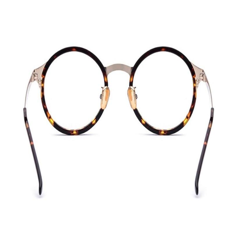 Vollrand Runde Goggle Lesen Von Progressive Multi Acetat In Rahmen Mode Unisex Nähe Sehen Weit Brillen Retro Der brennweite FaxwI