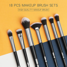 Get more info on the 18PCS Multifunctional makeup brushes Set For Foundation Powder Blush Eyeshadow Concealer Lip Eye Make Up Brush Cosmetics Beauty