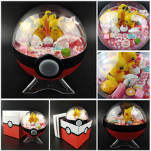 Hight Quality Pokeball Figures Cute Mini Figure Pikachu Figures Monster Model Pocket Toys For Girlfriend/Childrens Gift Toys