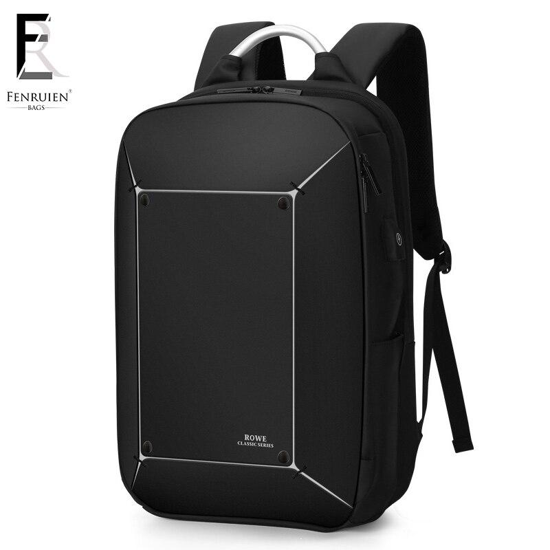 Bagaj ve Çantalar'ten Sırt Çantaları'de FRN Erkek Sırt Çantası Çok Fonksiyonlu USB Şarj 17 Inç Dizüstü Mochila Moda Büyük Kapasiteli Su Geçirmez seyahat sırt çantası Çanta Erkekler Için'da  Grup 1