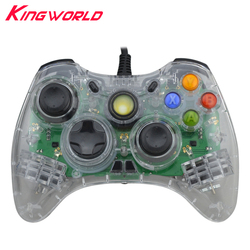 High quality wired usb pc controller vibration game controller gamepad joystick green led light for microsoft.jpg 250x250