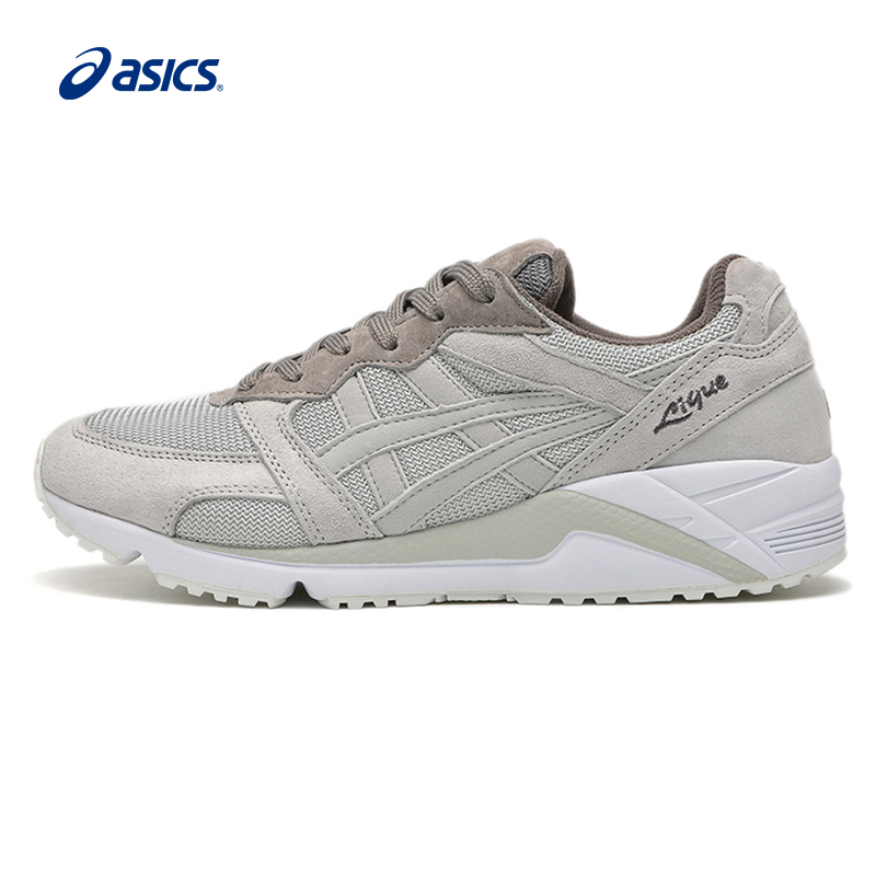 Original ASICS Men Shoes Breathable Anti-Slippery Hard- Wearing Running Shoes Active Retro Sports Shoes Sneakers цена