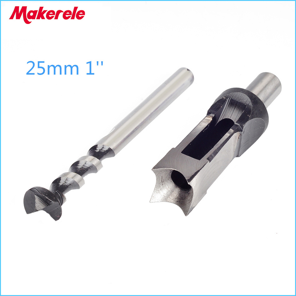 wood tools 25mm 1'' Woodworking tools Square Hole Bits Drill Mortising Chisel Set  Mortiser Drill Bit Set jelbo cone step drill hole tools countersink 3pc drill bit set power tools step drill bit for metal power tools set hole cutter