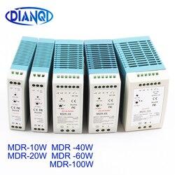 DIN Rail Power Supply Switch MDR-10W 20 W 40 W 60 W 100 W 5 V 12 V 15 V 24 V 36 V 48 V Output Dianqi Switching 5 V 12 V 15 V 24 V 36 V 48 V