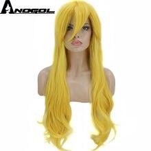 Женский парик для косплея anogol из высокотемпературного волокна