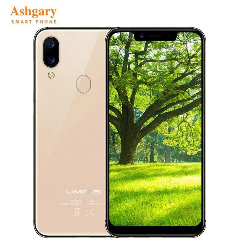 UMIDIGI A3 Pro 4G Smartphone 5.7'' 19:9 HD+ Android 8.1 Quad Core 3GB+32GB 3300mAh battery 2.5D Global LTE 3 Card slots Face ID