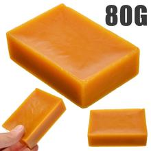 80g 100% Pure Natural Yellow Beeswax Bee Wax Pellets Honey for DIY Soap Candles