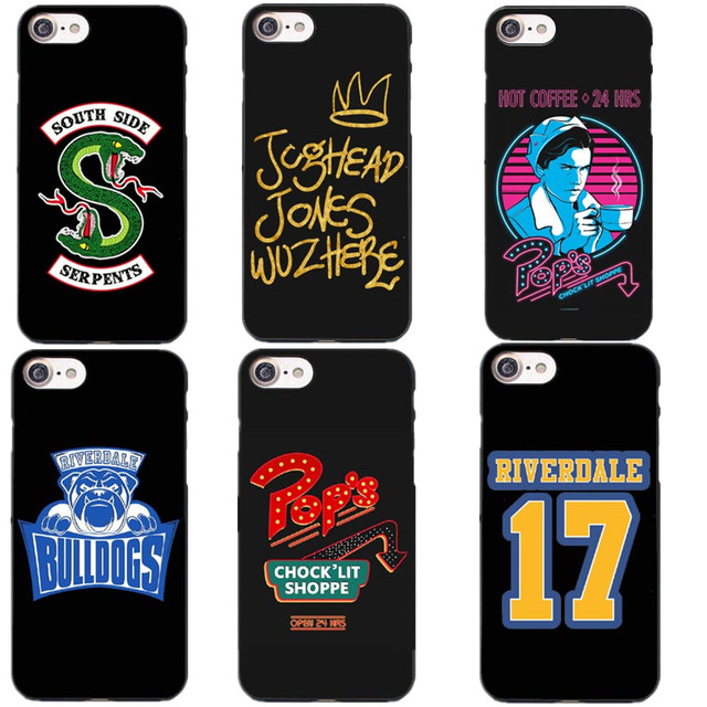 American TV Riverdale Jughead Hard PC Phone Case Fundas