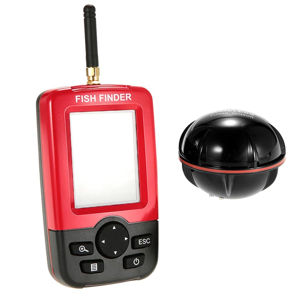 Ff1108-1cwla sem Fio Sorte Sonar Fish Finder Transdutor
