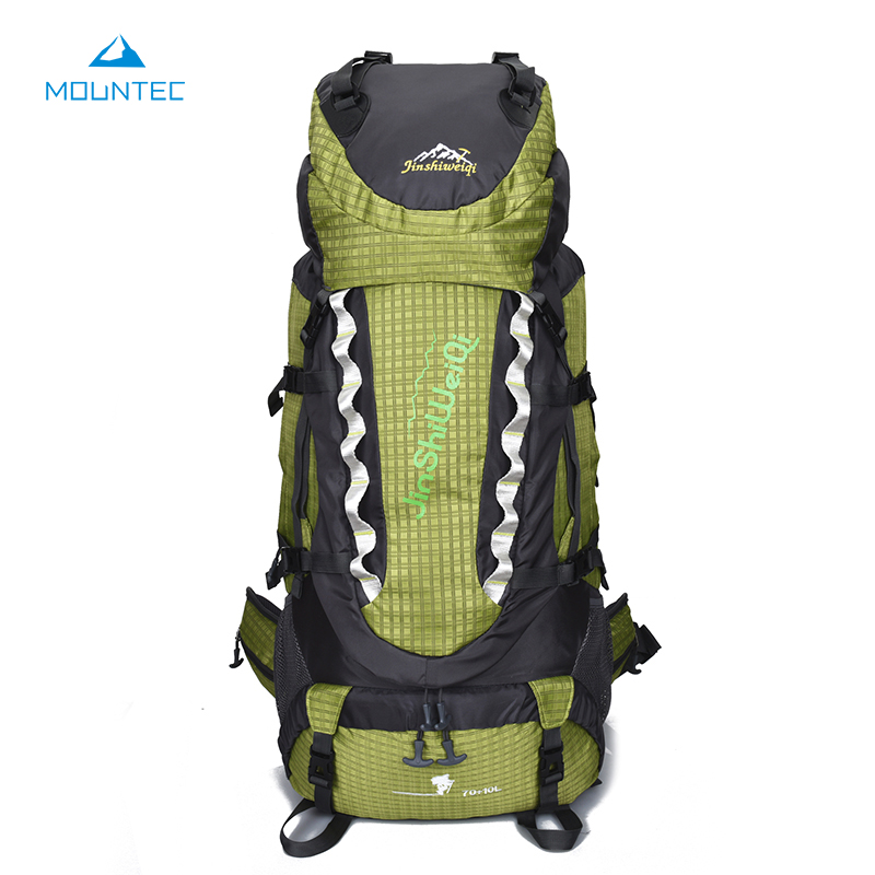 MOUNTEC Big Size Waterproof 420D Military Tactical Backpack Camping Hiking Climbing Rucksack Sports Bag 80L 35*20*85cm mountec large outdoor backpack travel multi purpose climbing backpacks hiking big capacity rucksacks sports bag 80l 36 20 80cm