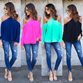 Chemise Femme 2017 Women blusas Shirts Long Sleeve Turn-Down Collar Solid Ladies Chiffon Blouse Tops Style