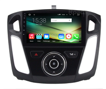 Quad Core 1024*600 Android 5.1.1 Car DVD Player Radio for Ford Focus 3 2012 2013 2014 2015 2016 2017 with BT Wifi GPS