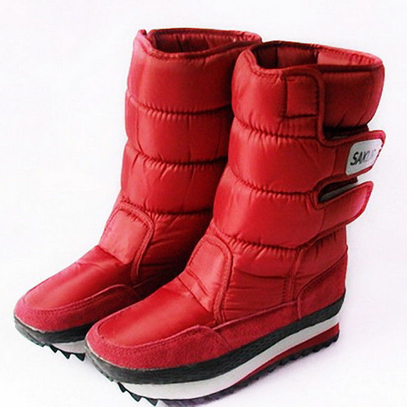 2016 snow boots winter non slip waterproof