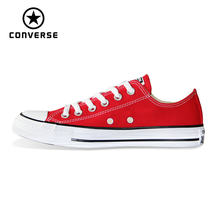 CONVERSE origina all star shoes Canvas Chuck Taylor uninex sneakers man and woman's Skateboarding Shoes 101007(China)