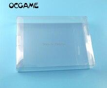OCGAME 5 pz/lotto Per Nintendo game scatole Sereno trasparente per SNES N64 scatola del Gioco di Caso Della Protezione CIB giochi di plastica PET protezione