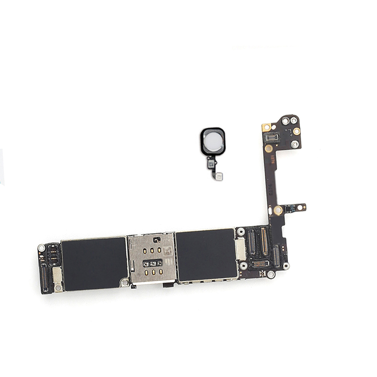 Black/ White/ Gold for iphone 6S 6 S Motherboard with Touch ID,Original unlocked for iphone 6s Logic board+Chips,Free Shipping