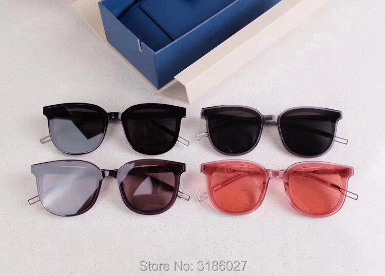 2018 Korea Bibang Gentle FLATBA Designer Ladies Sunglasses Vintage Female Oculos Sunglasses For Men And Women MA MARS GM Brand