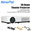 2000-2500lumens Portable DLP Projector 1280*800p Full HD Pocket Projector With Android 4.4 WIFI System Video Game TV Beamer