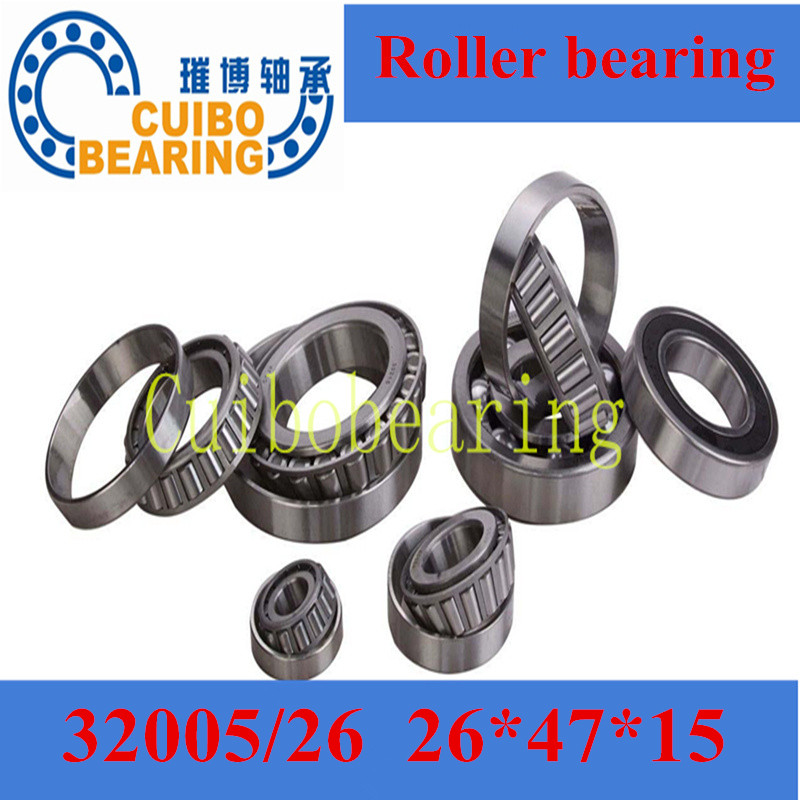 Non-standard taper roller bearing 32005/26 Auto Wheel Tapered China Bearing size:26x47x15mm auto wheel bearing size 40x68x22 tapered roller bearing china bearing 33008