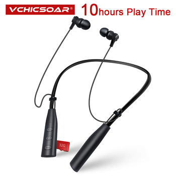 Vchicsoar Sports Bluetooth Earphones Wireless Headphones Stereo Bluetooth 4.2 Headset with Mic for Phone