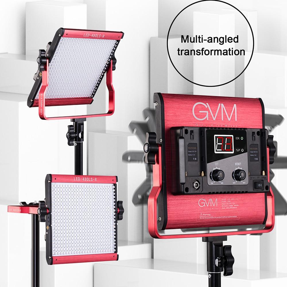 Gvm Photo Studio Led Ring Light: GVM 480 LED Photo Studio Continuous Light Lamp CRI97