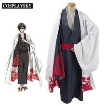 Servamp tsubaki cosplay traje de vampiro traje de kimono japonés de halloween trajes del partido diario dress para hombre mujer de alta quliaty