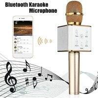 Wireless bluetooth Handheld Karaoke Microphone Universal Condenser Microphone Home Party KTV Bar Stage 6 7 Hours
