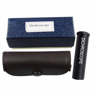 Image 2 - Dichroscope de calcite resistente handheld, gema trichoic & testes gemological das pedras preciosas, diâmetro do corpo 15mm do metal da ferramenta do joalheiro