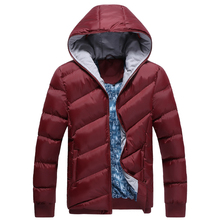 Winter Jacket Men Brand Parka Men Clothing Zipper Cotton Padded Hooded Thick Quilted Jackets Coat Mens Hoodies Parkas Size 3XL