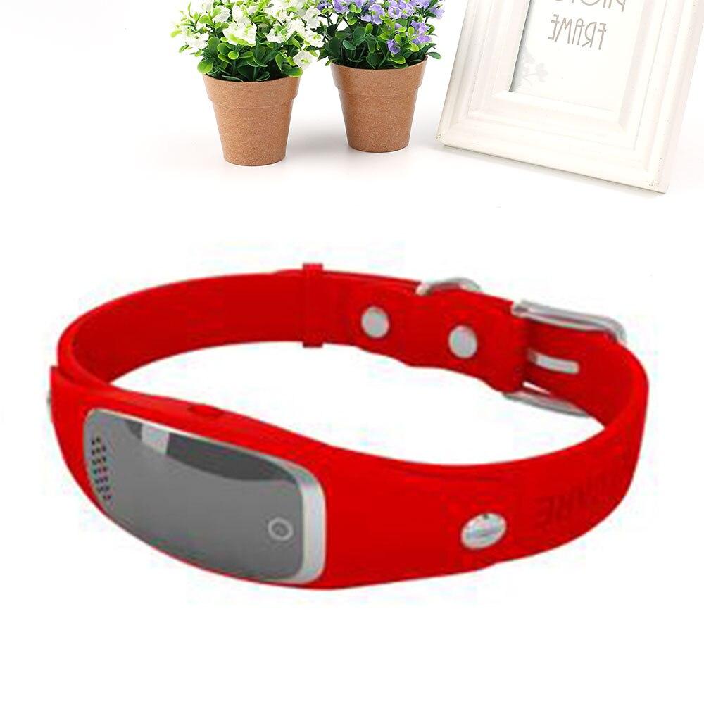 Mini traceur électrique localisateur GPS positionnement chien intelligent LCD affichage Trackers Anti perte Anti vol suivi adaptateur pour animal de compagnie enfant