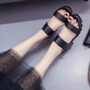 Image 3 - COOTELILI Women Platform Sandals Wedges Summer Shoes For Woman Casual Open Toe Sandles Women Shoes Buckle Sandalias Mujer