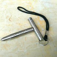 Multifunction Emergency Hammer Woman Defend Broken Self Defense Steel Stainless Steel Head Of Tactical Pen