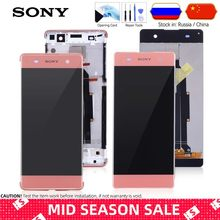 Original Display For Sony XA Display Touch Screen Replacement with Frame For Sony Xperia XA LCD Display Digitizer F3111 F3112(China)