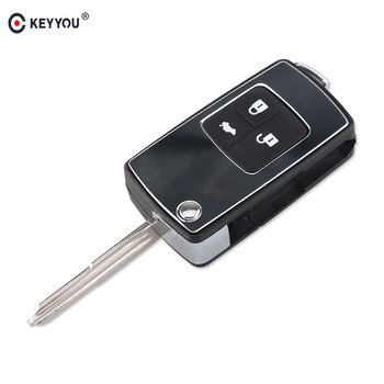 Chiave Telecomando per Chevrolet Epica 3 Tasti Remote Control Flip Folding Keyless Entry Remote Car Key Case Auto Right Blade