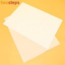 Twosteps полупрозрачные суан практики рисовая письменной листы рулон каллиграфия тонкие форме