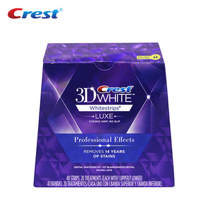 Image 2 - 3D White Strips Professional Effects Whitestrips Teeth Care 5/10/20 Pouch Dental Hygiene Tooth Whitener Teeth Whitening Strips