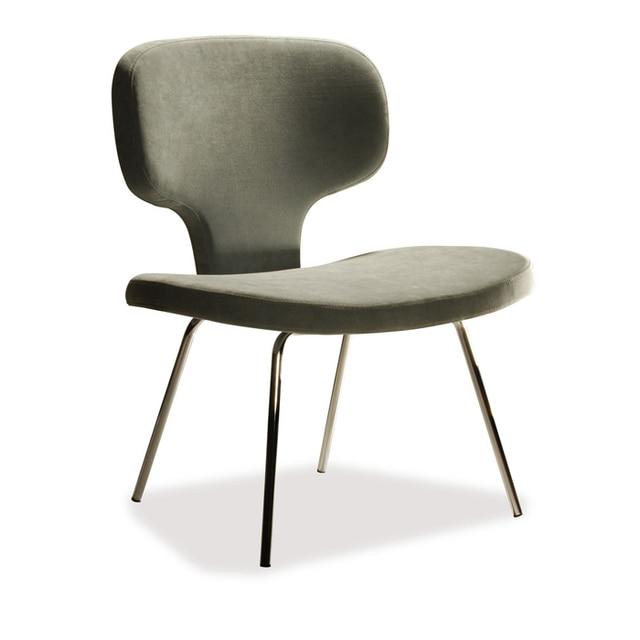 Special Fabric single backrest Hotel Club Chair Scandinavian
