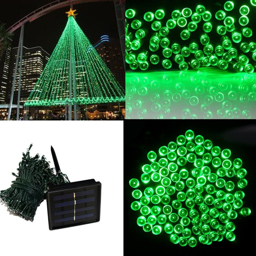 A String Of Holiday Lights Has 73 Light Bulbs In Series : 20M 200LED Solar Outdoor LED Christmas Light Fairy Lights Wedding Garden Xmas String Light ...