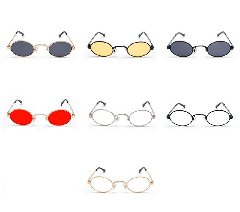 Tiny Oval Sunglasses Men detail (2)