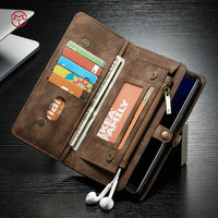Original Genuine Leather Multi Function Mobile Phone Wallet Bag Case Cover For Samsung Galaxy Note 7