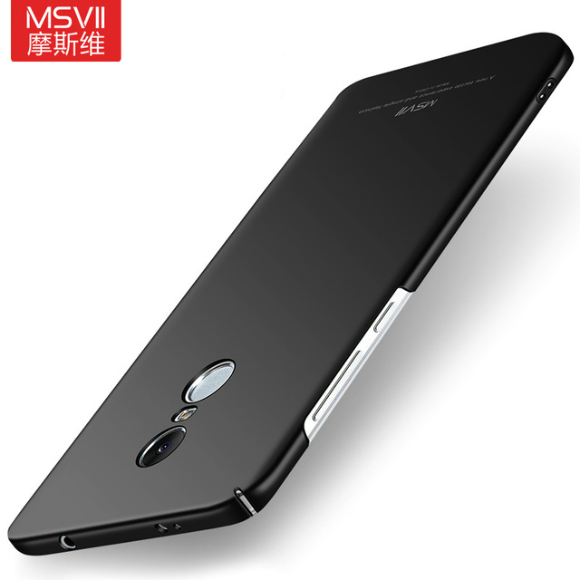 save off 4f1c2 76535 US $4.49 10% OFF|MSVII For Xiaomi Redmi Note 4X Case Matte Back Cover Hard  Slim Xiomi Redmi Note4X Redmi Note 4 Global Version Phone Cases-in Fitted  ...