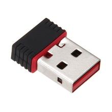 מיני מחשב WiFi מתאם 150M USB WiFi אנטנה אלחוטי מחשב כרטיס רשת 802.11n/g/b LAN + אנטנת wi fi מתאמי wi fi אנטנה