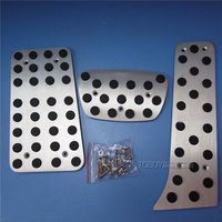 Left Driving Position Car Accelerator Pedals AT For TOYOTA CROWN Foot Skid Plate Non Slip Pedal
