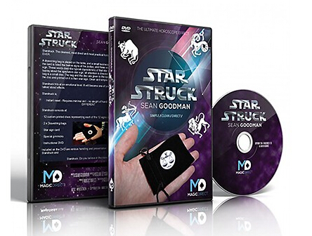 Starstruck (DVD and Gimmick) - trick,card magic,Fire magic Magic trick classic toys