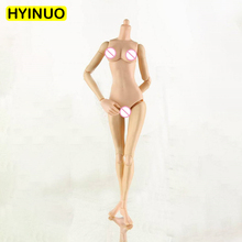 1/6 Scale 3 skin color mannequins S02 Female Rubberized Sit Slim Girl Body Action Figure 12 Accessory