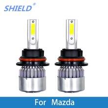 2 Pcs Auto Headlamp 12V 6000K Super Bright Car Bulb For Mazda B2300/B2600/Bongo Friendee/CX-5/E1800I/E2000/E2200/Miata/MPV/MX-3
