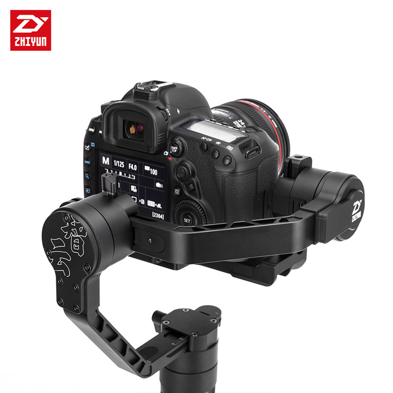 Zhiyun Crane Professional 3 Axis Handheld Gimbal Camera Stabilizer for Sony A7 Panasonic Canon Camera professional dv camera crane jib 3m 6m 19 ft square for video camera filming with 2 axis motorized head
