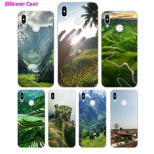 Silicone Case mountain and clould for Huawei P Smart 2019 Plus P30 P20 P10 P9 P8 Lite Mate 20 10 Pro Lite Nova 3i Cover цены